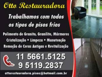 Otto restauradora de pisos. Guia de empresas e serviços