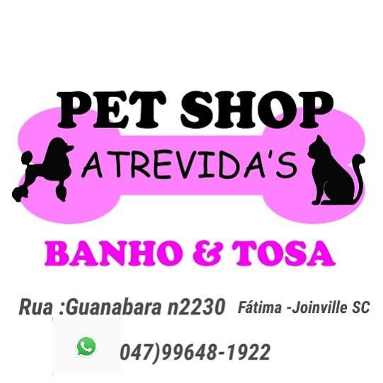 Pet shop atrevidas banho e tosa