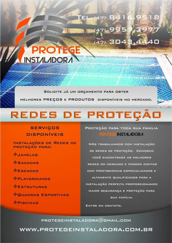 Protege instaladora redes de proteção
