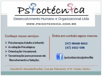 Psicotécnica ltda. Guia de empresas e serviços