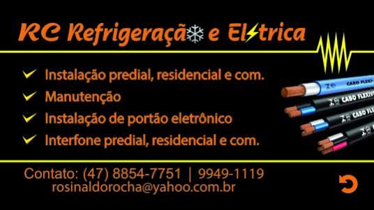 Rc refrigeração e elétrica