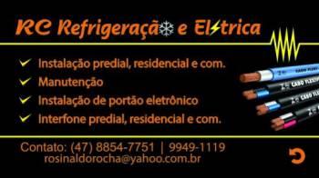 Rc refrigeração e elétrica. Guia de empresas e serviços