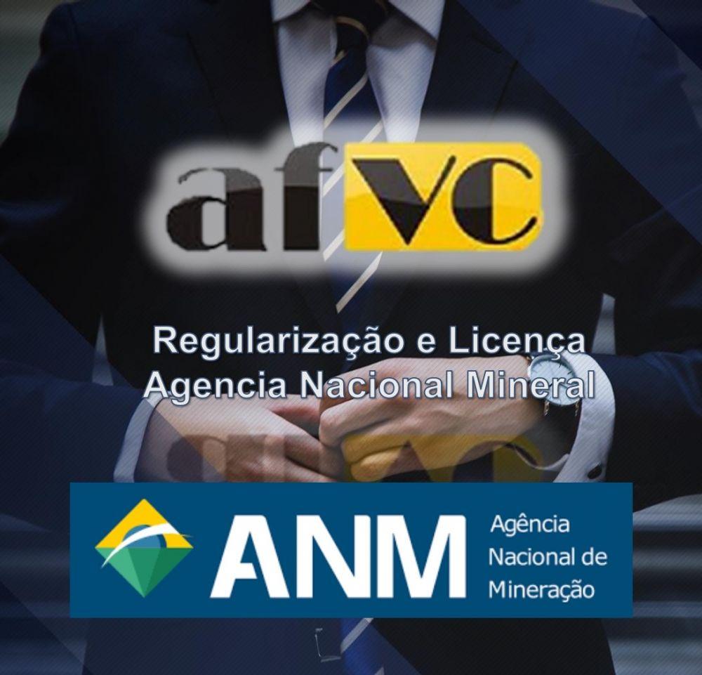 Licença agencia nacional  mineral.