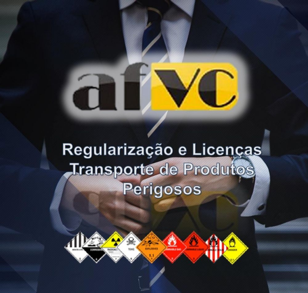Regularização e licenças para o transporte rodoviário de produtos perigosos.