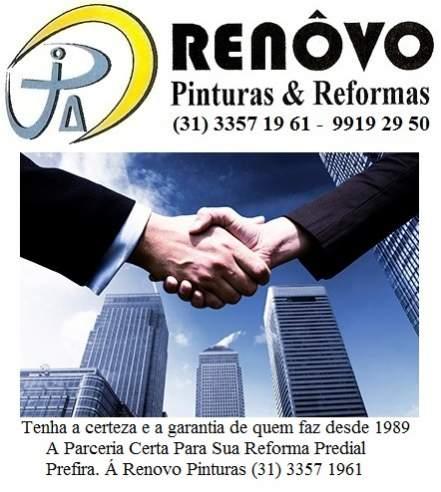 Renôvo pinturas e reformas prediais 31 3357 19 61