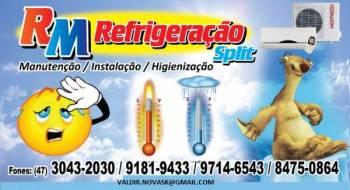 Rm refrigeração. Guia de empresas e serviços