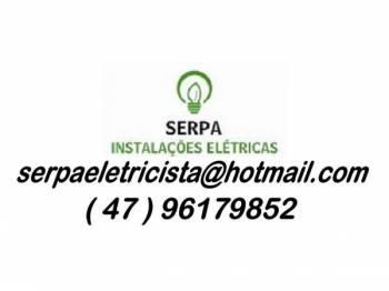 Serpa instalações elétricas. Guia de empresas e serviços