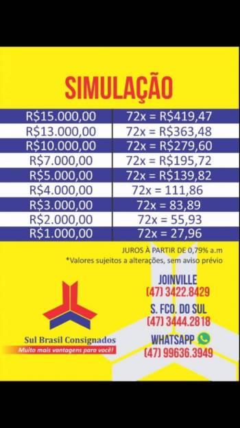 Sul brasil consignados . Guia de empresas e serviços