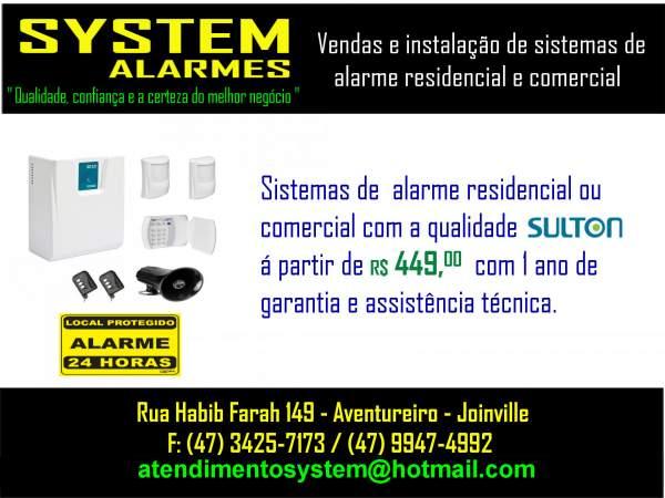 System alarmes