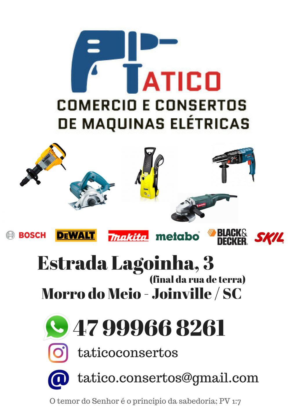 Tatico comercio e consertos de maquinas elétricas