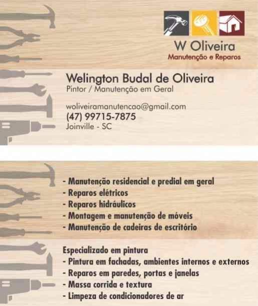 W oliveira manutenção e reparos
